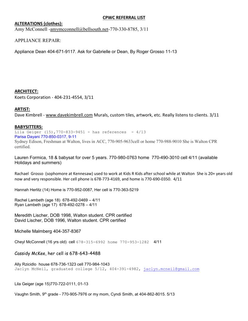 b740b43f35de8 referral list - Chattahoochee Plantation Womens Club