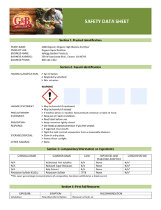 Safety Data Sheet - Kellogg Garden Products