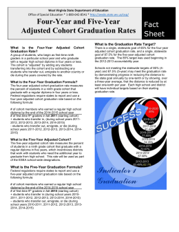 What is the Four-Year Adjusted Cohort Graduation Rate?