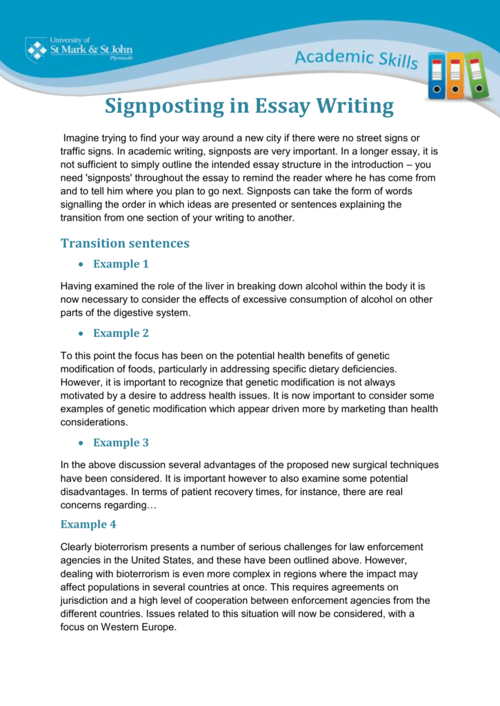 How To Write A Good Essay For High School  Synthesis Essay Prompt also Examples Of Thesis Statements For Narrative Essays Signposting When Writing Essays Essays On English Language