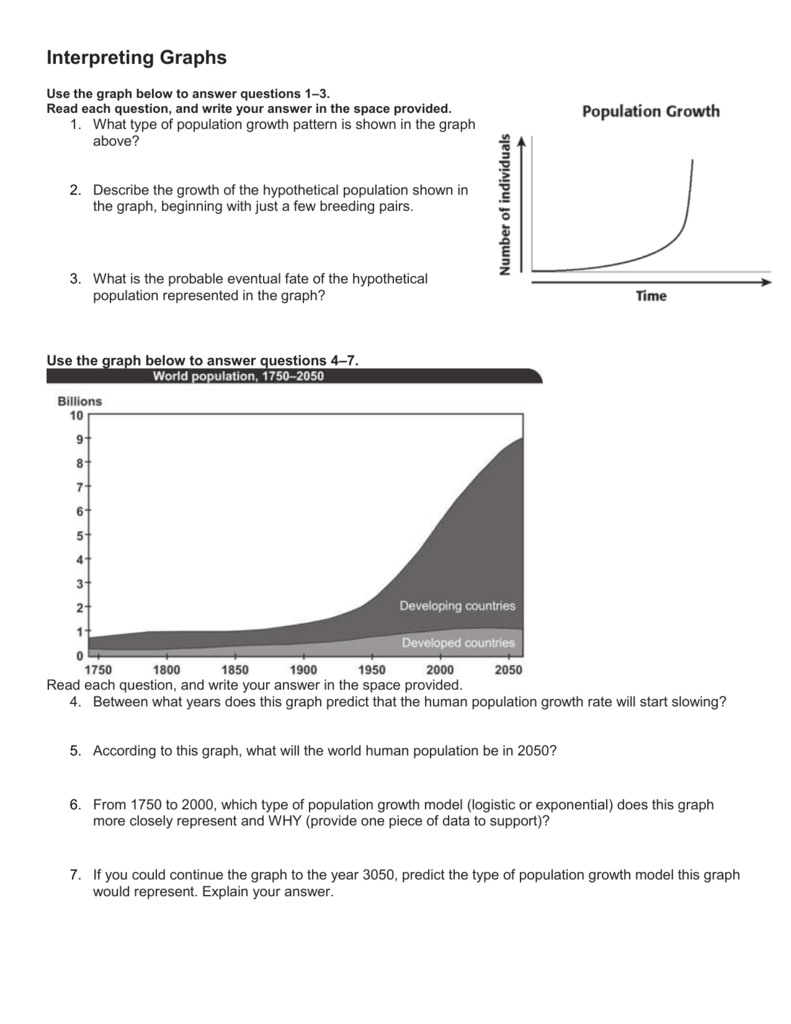 Interpreting Graphs With Regard To Interpreting Graphs Worksheet High School