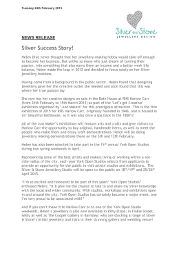 25FEB15 Silver Success Story - Silver And Stone Jewellery Design