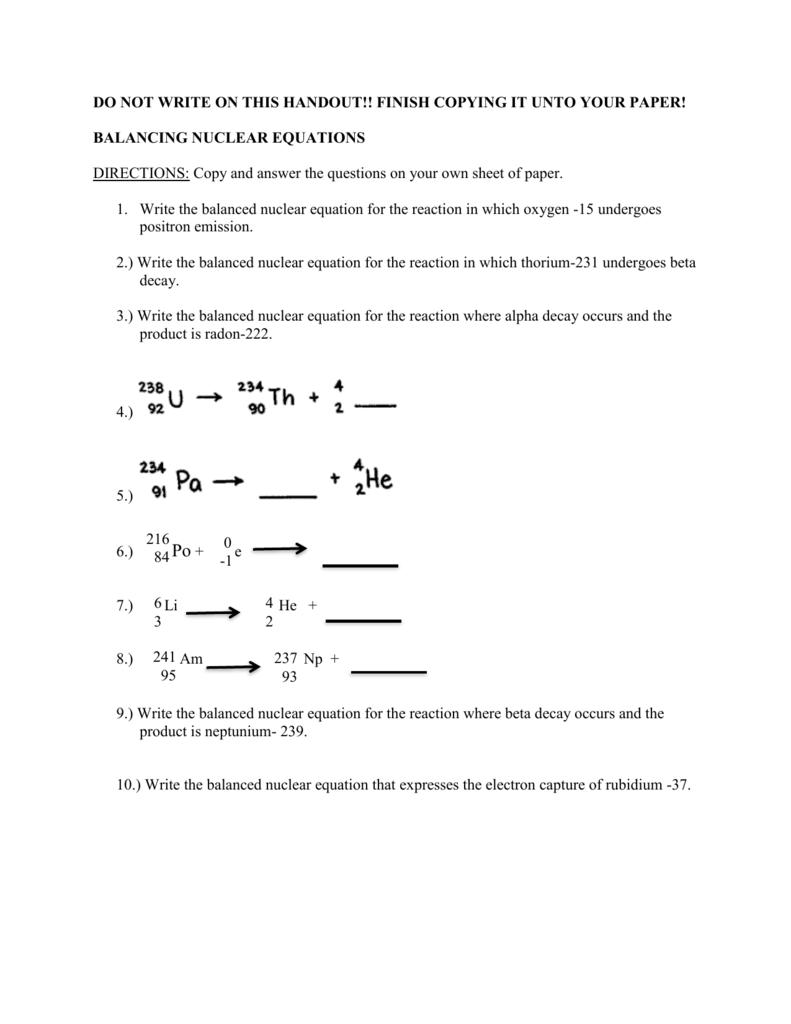 electron capture equation