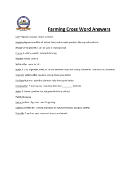 Answers - Kent Soil and Water Conservation District