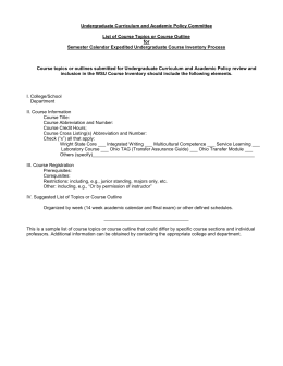 Expedited List of Topics Guidelines (docx file)