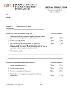External Referee Form