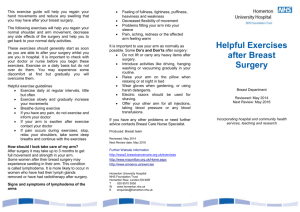 6pp DL leaflet - Homerton University Hospital