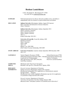 2014 100-R Personnel Report - University of Southern Indiana