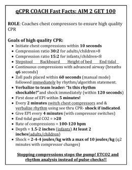 qCPR Coach Fast Facts sheet
