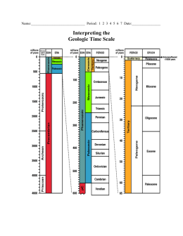 Interpreting the Geologic Time Scale