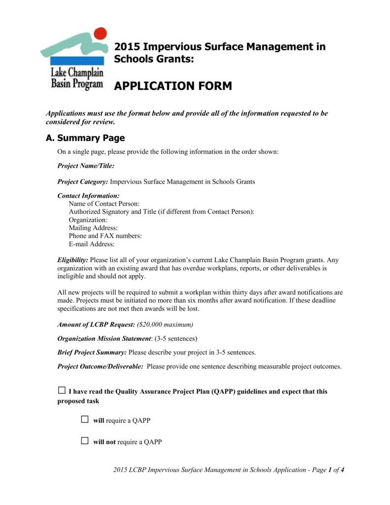 MS Word - Lake Champlain Basin Program