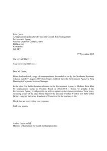 Andrea`s letter to the Environment Agency - 9th