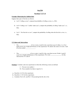 Section 3.2-3.4 Handout for PPT