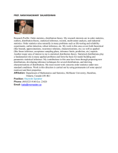 PROF. NARAYANASWAMY BALAKRISHNAN Research Profile