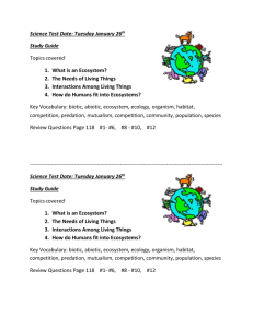 science chapter 4 study guide
