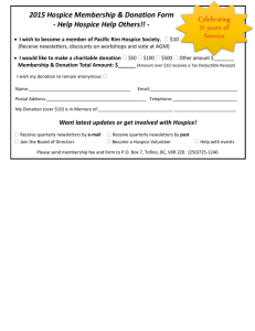 2015 Membership & Donation Form