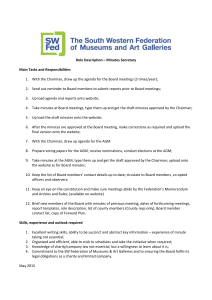 South Western Federation of Museums and Galleries