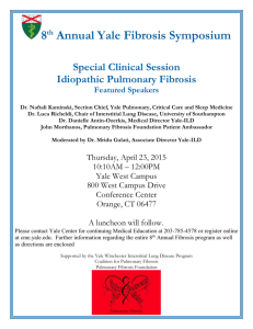 View Flyer - Pulmonary Fibrosis Foundation