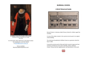 Burnsall School Leaflet (1)