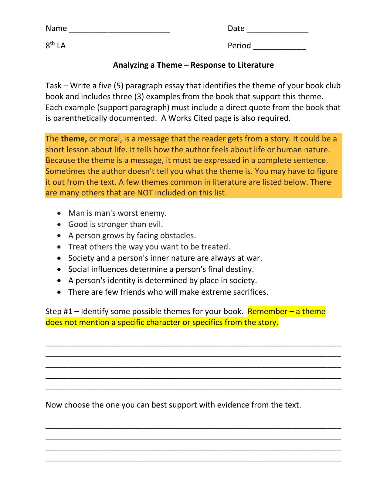 how to end a descriptive essay examples