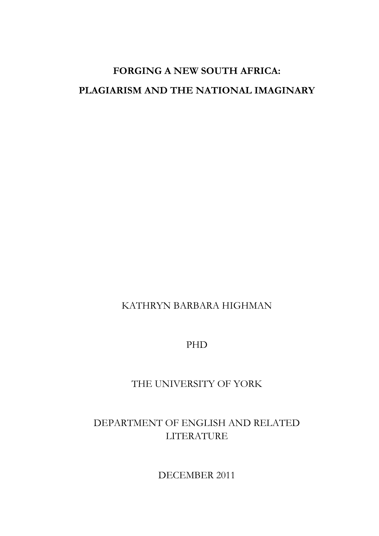 white rose online thesis