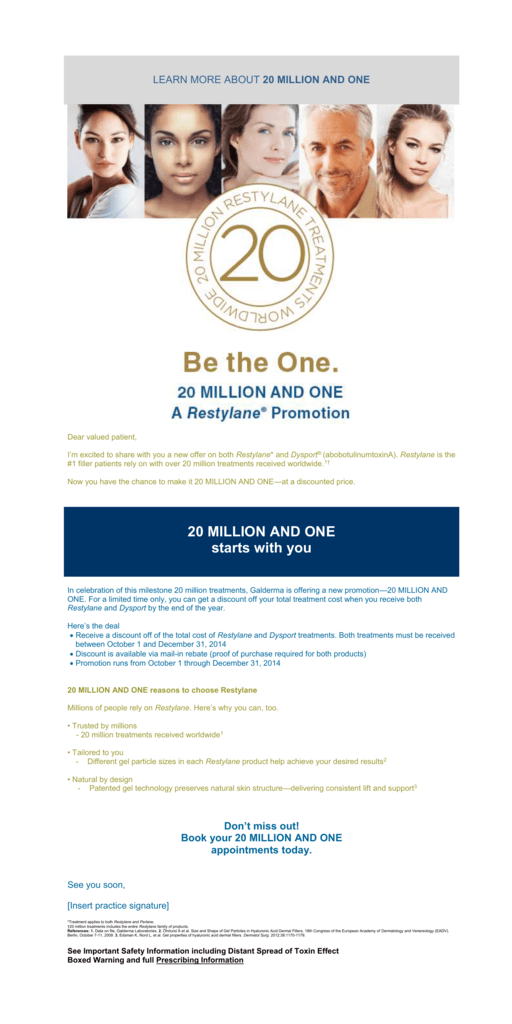 learn more about 20 million and one