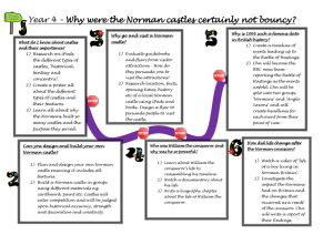 Year 4 – Why were the Norman castles certainly not bouncy?