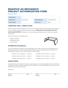 Complete the Project Authorization form with the required signatures