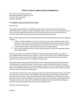 North Bluff support letter