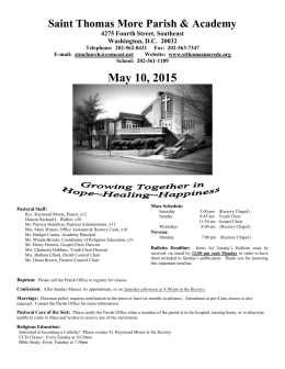 STM Bulletin-May 10, 2015