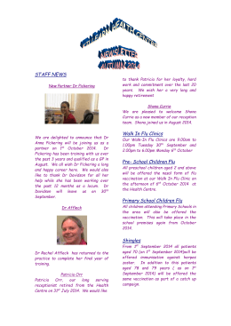 Read our Newsletter - Killearn Health Centre