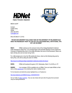 HDNet Information