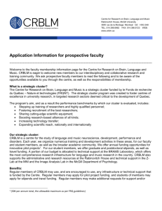 Application Information for Prospective Faculty