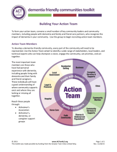 Building Your Action Team
