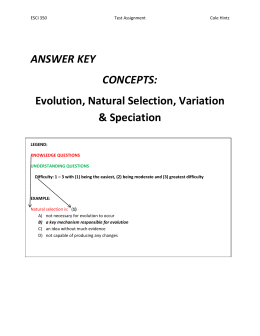 (ANSWER KEY AND QUESTIONING LEVELS)