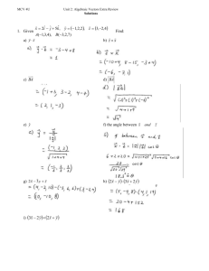 Algebra and Discrete Grade 12