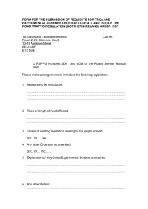 Appendix 1 TRO and experimental schemes request form Word