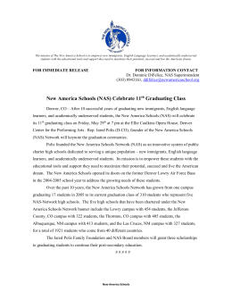 2015 DRAFT NAS News Release (2)