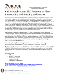 PhD Positions Available at Purdue ABE