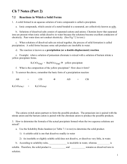 lab report precipitates View notes - solubility and precipitation lab report from chem 1 at tufts university chem 1, lab i 2/29/2012 solubility and precipitation lab report purpose the purpose of this lab was to determine.