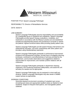 Regulation 42 CFR 421 - Western Missouri Medical Center