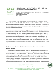 Draft-Comment-on-SEP.. - Green Spaces Alliance