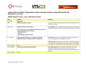 conference schedule - University of Technology Sydney