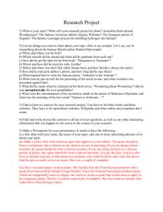 Intermediate 1 english critical essay questions