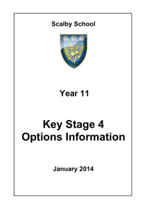 Year 11 courses booklet 2014-2015