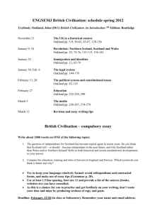 ENGSEMJ British Civilisation: schedule spring 2012