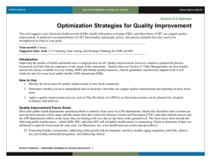 6 Optimization Strategies for Quality Improvement