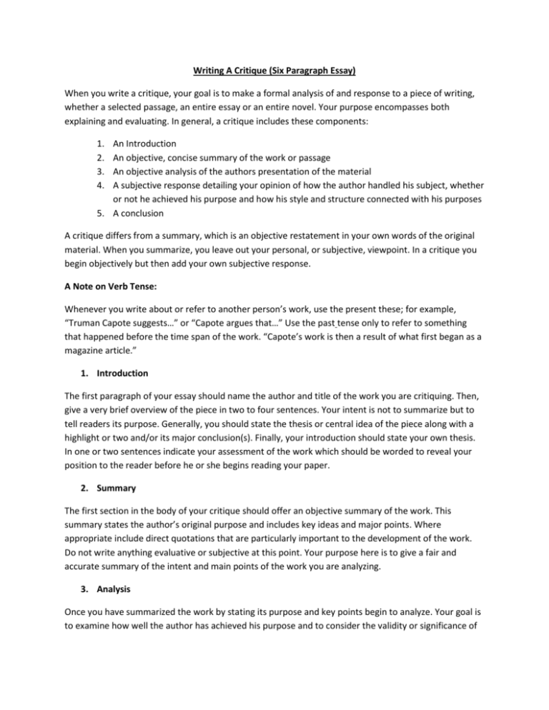 essay purpose writing