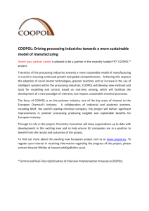 COOPOL: Driving processing industries towards a more sustainable