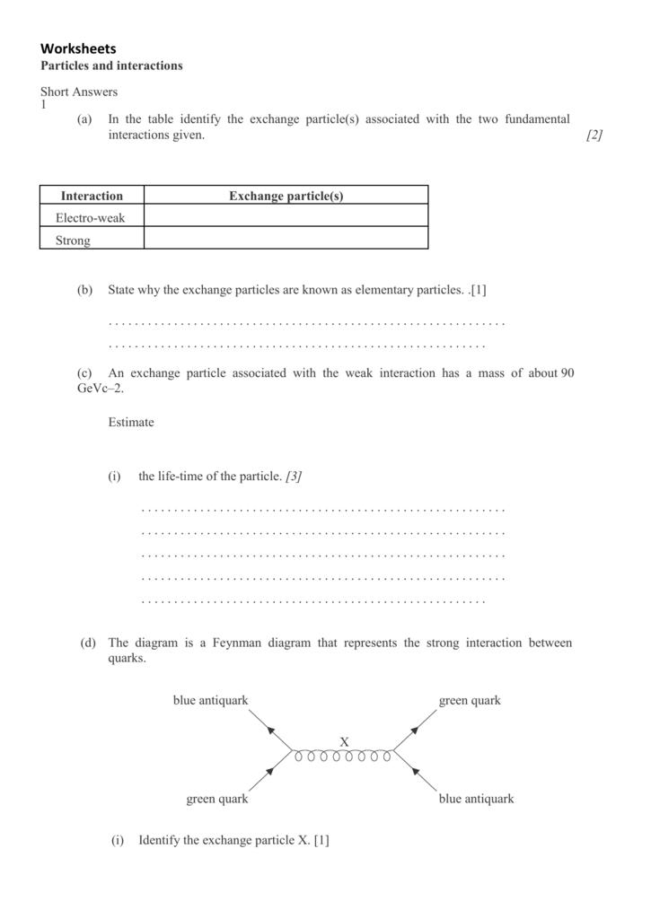 Printables of Worksheet 1 The Feynman Energy Lecture - Geotwitter ...